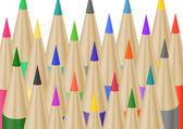 Lapices color — Vector de stock
