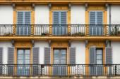 Balkon van de plaza de la constitucion — Stockfoto
