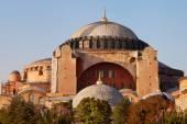 Hagia Sophia at dusk — Stock Photo
