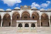 Suleymaniye Mosque courtyard — Stockfoto
