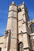 South tower of Narbonne Cathedral — Stock Photo