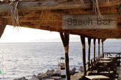 Beach bar — Stock Photo