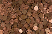 Background cents — Stock Photo