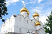 Assumption Church in Yaroslavl, Russia. — Stock fotografie