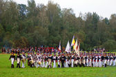 Borodino 2012 historical reenactment — Stock Photo