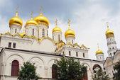 Kostel zvěstování. moskevského kremlu. světového dědictví unesco. — Stock fotografie