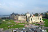 Kazan city panorama. — Stock Photo