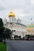 Iglesia de los arcángeles. kremlin de moscú. la unesco patrimonio de la humanidad. — Foto de Stock