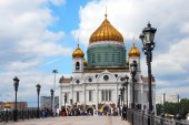 Christ Rescuer Church in Moscow. — Stock Photo