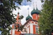 Eski bir Rus Ortodoks Kilisesi bina. — Stok fotoğraf