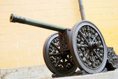 Old cannon in Moscow Kremlin. UNESCO Heritage Site.  — Stock Photo