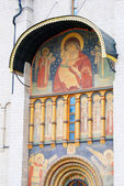 Dormition church. Moscow Kremlin. UNESCO Heritage.  — 图库照片