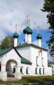 Budova staré ruské pravoslavné církve. — Stock fotografie