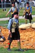 Mincer Nivelle battle reenactment — 图库照片