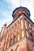 Cathedral Church on Kant island in Kaliningrad — Foto Stock