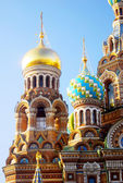 Church of the Savior on Spilled Blood. Saint-Petersburg, Russia. — Stock Photo