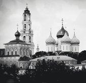 Trinity Sergius Lavra, Sergiev Posad, Russia. UNESCO World Herit — Stock Photo