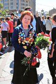 Celebrazione di giorno di vittoria a Mosca. — Foto Stock