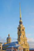 Peter and Paul fortress in Saint-Petersburg, Russia. — Stock Photo