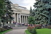 The Fine Arts Museum named after Alexander Pushkin — Foto de Stock