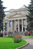 The Fine Arts Museum named after Alexander Pushkin — Stockfoto