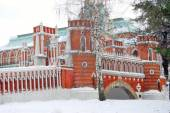 Old bridge in Tsaritsyno park in Moscow — Stock Photo