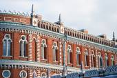 View of Tsaritsyno park in Moscow — Foto de Stock