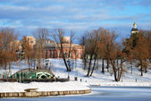 View of Tsaritsyno park in Moscow — ストック写真