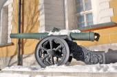 Old cannon in Moscow Kremlin. UNESCO World Heritage Site. — Stock Photo