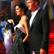 Постер, плакат: Ravshana Kurkova and Ilya Bachurin at Moscow Film Festival