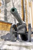 Old cannon shown in Moscow Kremlin.  — Foto de Stock