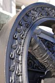 Old cannon shown in Moscow Kremlin.  — Stock Photo