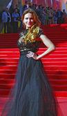 モスクワ映画祭でアンナ ・ ゴルシュコワ — ストック写真