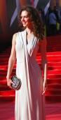 Atriz Lyanka Grui no Festival de cinema de Moscou — Fotografia Stock