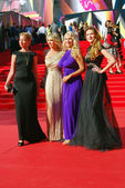 Moskova Film Festivali'nde ünlüler — Stok fotoğraf