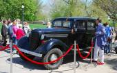Vintage car. — Stock Photo