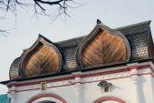 Architecture of Kolomenskoye park in Moscow. — Stock Photo