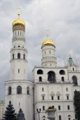 Ivan the Great Bell tower. Moscow Kremlin. UNESCO World Heritage Site. — Stock Photo