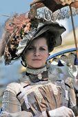Retrato de una persona en traje histórico. — Foto de Stock