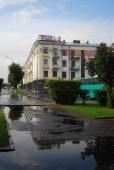 Arquitectura antigua de la ciudad de yaroslavl, rusia — Foto de Stock