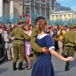 Vitory Day celebration in Moscow — Stock Photo #71704451