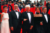 Main competition jury members of Moscow Film Festival — Stock Photo