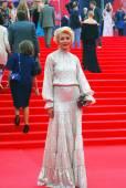 Actress Ekaterina Volkova at Moscow Film Festival — Stock Photo