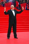 Nikita Mikhalkov at Moscow Film Festival — Stock Photo