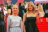 Gordon and Arkharova at Moscow Film Festival — Stock Photo