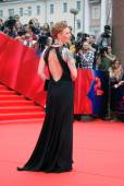 Actress Amalia Amalia at Moscow Film Festival — Stock Photo