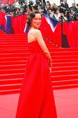 Actress Daria Moroz at Moscow Film Festival — Stock Photo