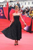 Actress Natalia Bardo at Moscow Film Festival — Stock Photo