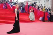 Actress Svetlana Ivanova at Moscow Film Festival — Stock Photo