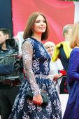 Actress Irina Lachina at Moscow Film Festival — Stock Photo